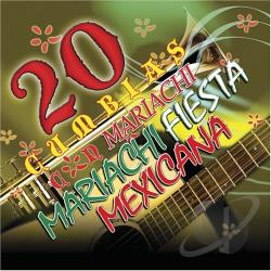 Mariachi Fiesta Mexicana - 20 Cumbias Con Mariachi CD Cover Art