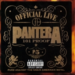 Pantera - Official Live: 101 Proof DB Cover Art