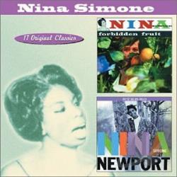 Simone, Nina - Forbidden Fruit/Nina Simone at Newport CD Cover Art