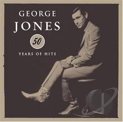 Jones, George - 50 Years of Hits CD Cover Art