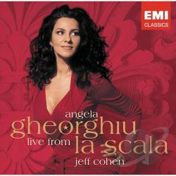 Cohen, Jeff / Gheorghiu, Angela - Angela Gheorghiu Live from La Scala CD Cover Art