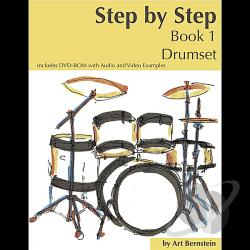 Bernstein, Art - Step By Step Book 1 Drumset DVD Cover Art