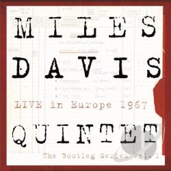Davis, Miles / Davis, Miles Quintet - Live in Europe 1967: The Bootleg Series, Vol. 1 LP Cover Art