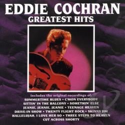 Cochran, Eddie - Greatest Hits CD Cover Art