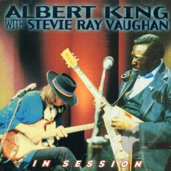 King, Albert / Vaughan, Stevie Ray - In Session CD Cover Art