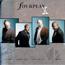 Fourplay - X CD Cover Art