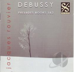 Debussy, C. - Debussy: Preludes Books 1 & 2 CD Cover Art