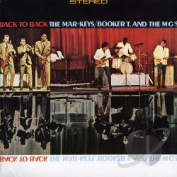 Booker T. & The MG's / Mar-Keys - Back to Back CD Cover Art
