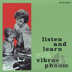 Listen and Learn With Vibro-Phonic CD Cover Art
