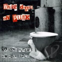 White Dopes On Punk CD Cover Art
