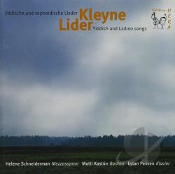 Schneiderman, Helene - Yiddish Ladino Songs CD Cover Art