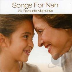 Songs For Nan CD Cover Art