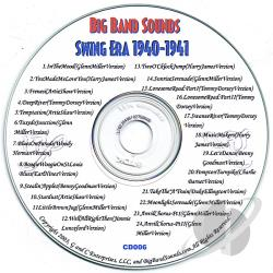 BIG BAND SOUNDS / Various Artists - Big Band Sounds: Swing Era 1940-1941 CD Cover Art