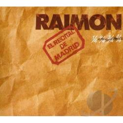 Raimon - Recital De Madrid- Reissue CD Cover Art