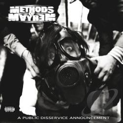 Methods Of Mayhem - Public Disservice Announcement CD Cover Art