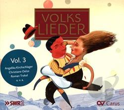 German Folksongs 3 - Volkslieder, Vol. 3 CD Cover Art