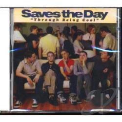 Saves The Day - Through Being Cool CD Cover Art