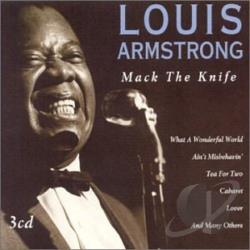 Armstrong, Louis - Mack the Knife CD Cover Art
