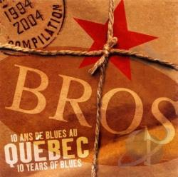 10 Ans de Blues au Quebec CD Cover Art