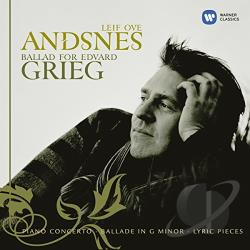 Andsnes, Leif Ove - Ballad for Edvard Grieg CD Cover Art