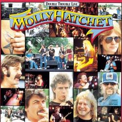 Hatchet, Molly - Double Trouble Live CD Cover Art