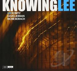 Beirach, Richie / Konitz, Lee / Liebman, David - Knowing Lee CD Cover Art