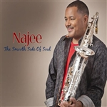 Najee - Smooth Side of Soul CD Cover Art