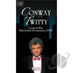 Twitty, Conway - Conway Twitty (3CD+DVD) CD Cover Art