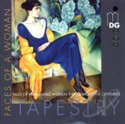 Tapestry - Faces of a Woman CD Cover Art