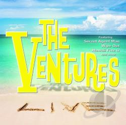 Ventures - Ventures Live CD Cover Art