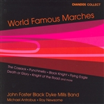 Black Dyke Mills Band - World Famous Marches CD Cover Art