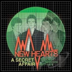 New Hearts - Secret Affair: CBS Sessions 1977-1978 CD Cover Art