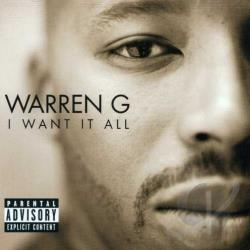 Warren G - I Want It All CD Cover Art