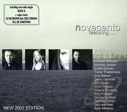 Novecento / Novocento - Featuring... CD Cover Art