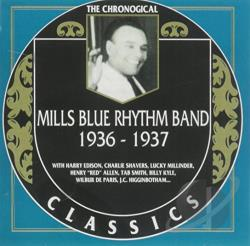 Mills Blue Rhythm Band - 1936-1937 CD Cover Art