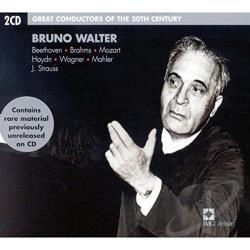 Walter, Bruno - Great Conductors of the 20th Century - Bruno Walter CD Cover Art