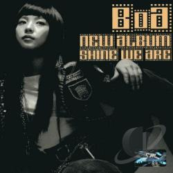 Boa - Shine We Are CD Cover Art