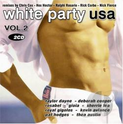 White Party USA Vol. 2 CD Cover Art