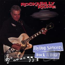 Rockabilly, Richie - Flying Saucers Rock & Roll CD Cover Art