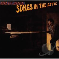 Joel, Billy - Songs in the Attic CD Cover Art