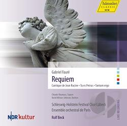 Faure / Okamura / Selc / Wilson-Johnson - Faure: Requiem CD Cover Art