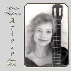 Anderson, Muriel - Arioso from Paris CD Cover Art