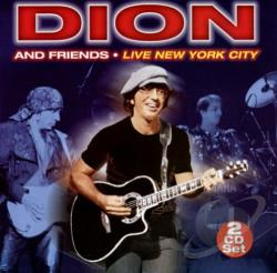 Dion - Live New York City CD Cover Art