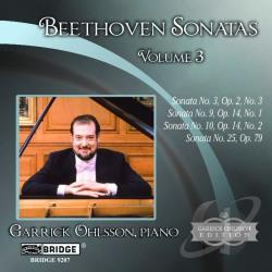 Beethoven, Ludwig Van - Beethoven: Sonatas, Vol. 3 CD Cover Art