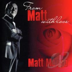Monro, Matt - From Matt Monro with Love CD Cover Art