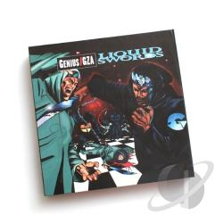 GZA - Liquid Swords: Chess Box LP Cover Art