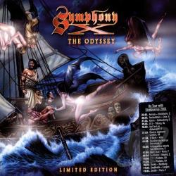 Symphony X - Odyssey CD Cover Art