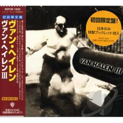 Van Halen - Van Halen III CD Cover Art