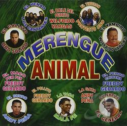 Merengue Animal CD Cover Art