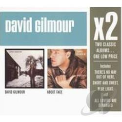 Gilmour, David - David Gilmour/About Face CD Cover Art